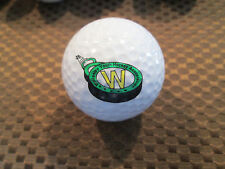 Logo Golf Ball-Wellesley Youth Hockey Association.