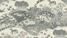 Fat Quarter Heartwood Animals Grey Fox Deer 100% Cotton Quilting Fabric Makower