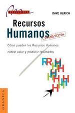 Recursos humanos campeones (Spanish Edition)