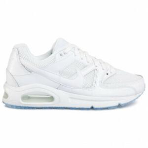 Chaussures Nike Homme Air Max Command 629993 112 Blanc Cuir Original Neuf