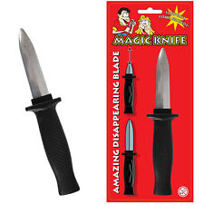 Novelty Joke Trick Dagger Fake Knife Retractable Blade Fancy Dress Disappearing