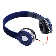 New Foldable Stereo Headphones DJ Style Headset Earphone Over Ear MP3/4 3.5mm