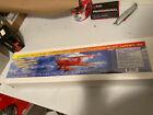 "Dumas 35"" Waco Biplane Balsa Laser Cut Model Airplane Kit MISB R/c Electric"