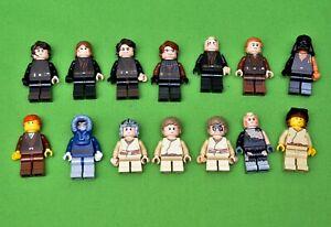 Lego Star Wars Figur Anakin Skywalker zum Auswählen 7256 7283 7660 7877 8096