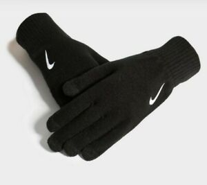 Nike Knitted Tech Gloves Touch Screen Unisex Size: Small/ Medium