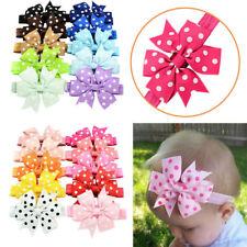 10Pcs Baby Girl Headband Lace Headwear Elastic Hair Band Hairb 00006000 and Headdress New