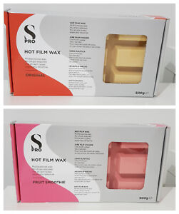 Hot Film Wax 500g Block Peel Off - No Wax Strips - S-Pro - Spatulas Bikini Leg