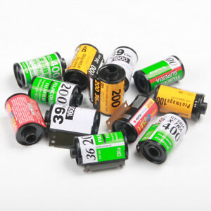 10pcs Bulk Film Loader Retro 135 35mm Empty Canisters Spools Cassettes Reusable