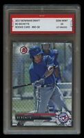 BO BICHETTE 2017 BOWMAN DRAFT Topps 1ST GRADED 10 ROOKIE CARD TORONTO BLUE JAYS