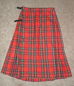 THE SCOTCH HOUSE Ladies 12 Scotland Highland Dress Ankle Length Tartan Skirt
