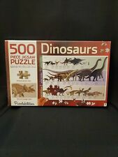 NEW SEALED  Puzzle-  500 Piece Dinosaur Boys Educational