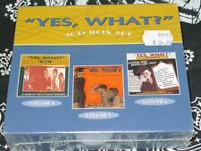 YES, WHAT VOLUME 4-6 Box Set 3CD
