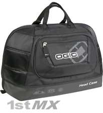 OGIO STEALTH BLACK HELMET HEAD CASE Borsa Vettore Gara Motocross MX Enduro MTB DH