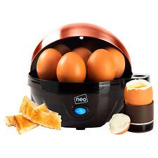 Neo Copper Electric Egg Cooker Boiler Poacher & Steamer Fits 7 Eggs