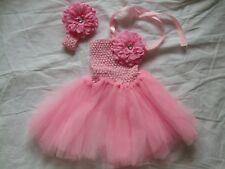 Robe de CEREMONIE ROSE + bandeau  - 1/2 ans - NEUVE
