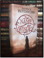 The Name of the Wind ✎SIGNED✎ by PATRICK ROTHFUSS German Hardback 1st Printing