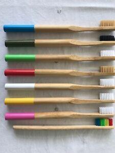 Antimicrobial Anti Fungal BAMBOO Toothbrush Medium Bristle Eco Friendly