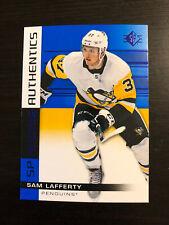 Sam Lafferty 2019-20 Upper Deck SP Rookie Authentics Blue #110 Penguins RC