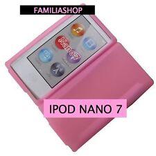 Housse etui coque silicone rose pour iPod Nano 7 7G + Film de protection écran
