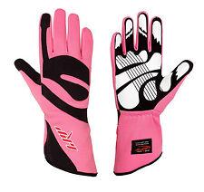 LRP Kart Racing Gloves- Freedom Gloves Black/Pink