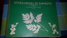 ALBUM FIGURINE ENCICLOPEDIA DI TOPOLINO-MONDO DELLE PIANTE-VOL III -COMPLETO
