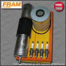 SERVICE KIT BMW 3 SERIES 318I M43 E36 FRAM OIL AIR FUEL FILTER PLUGS (1994-1995)