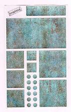 MRS GROSSMANS SCRAP METAL BLOCKS ANCIENT MONUMENT STICKER SHEET BN & NLA