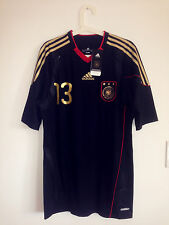 BNWT! RARE GERMANY 2010-11 AWAY SS TECHFIT PLAYER ISSUE SHIRT TRIKOT #13 BALLACK