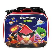 Licensed Rovio ANGRY BIRDS SPACE LUNCH BAG Lunchbag BOX TOTE CASE NEW!!