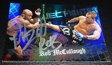 Razor Rob McCullough Signed UFC 2010 Topps Main Event Card #146 WEC 25 Autograph