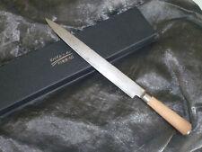 Schinken- Sashimimesser - 26,5cm - Damaszener Stahl Neu