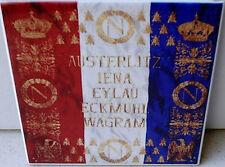 Napoleonic Wars French Flag~ Austerlitz,Wagram, Eylau,Iena FLAG CERAMIC TILE