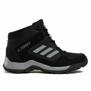 Boys Boots Adidas Terrex Hyper Black Lace Up Hiking Boots NEW