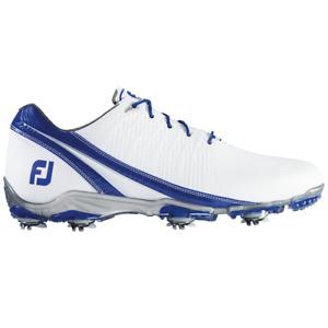 NEW! FootJoy [11.5] WIDE DNA Men's Golf Shoes 53384-White/Royal