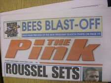 18/03/2000 Coventry Evening Telegraph The Pink: Main Headline Reads: Roussel Set