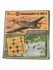 airfix construction kit vintage series 1 messerschmitt