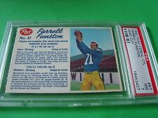1962 Post Cereal CFL  #87 FARRELL FUNSTON psa 7 Winnipeg BLUE BOMBERS (407)HC