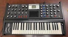 Minimoog Voyager Analog Synthesizer Electric Blue Keyboard