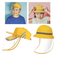 Kids Face Shield Hut Wanderstrand Outdoor Protective Face Visier Kopfbedeckung