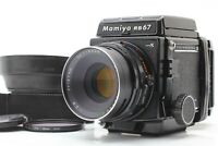 [MINT] MAMIYA RB67 Pro S + Sekor C 127mm f/3.8 Lens + 120 Film Back from JAPAN