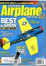 MODEL AIRPLANE NEWS Magazine February 2004 Sig Rascal 110