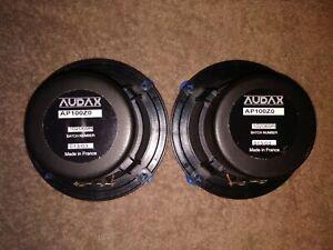 Audax AP100ZO 4 Inch Bass Midrange 8 Ohm Pair