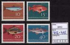 BUND ** Mi.-Nr. 412-415 - Jugend: Fische