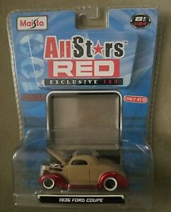 Maisto All Stars 1936 Ford Coupe series 14