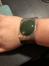 Huge Sterling Cuff Bracelet 81 Grams