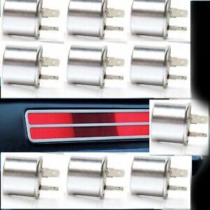10 PACK HEAVY DUTY/E-552/536 12V/2 Prong Turn Signal Flasher/BlinkerFree Ship