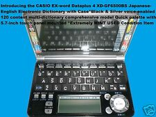 Casio Ex-word Dataplus4 Xd-Gf6500Bs Japanese-English Electronic Dictionary wCase