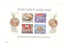 Beleg 013 Nach Oberhausen Block 150 Geburtstag Karl Marx U.a. Motive Briefmarken Herrlicher Ddr R