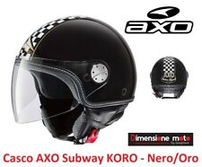 Taglia M Nero Lucido AXO Casco Emx
