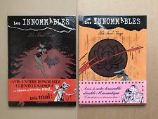 LES INNOMMABLES:2 EO D'ALIX-NONI-TENGU+ BANDEAU & COUVERTURE DIFFÉRENTS (CONRAD)